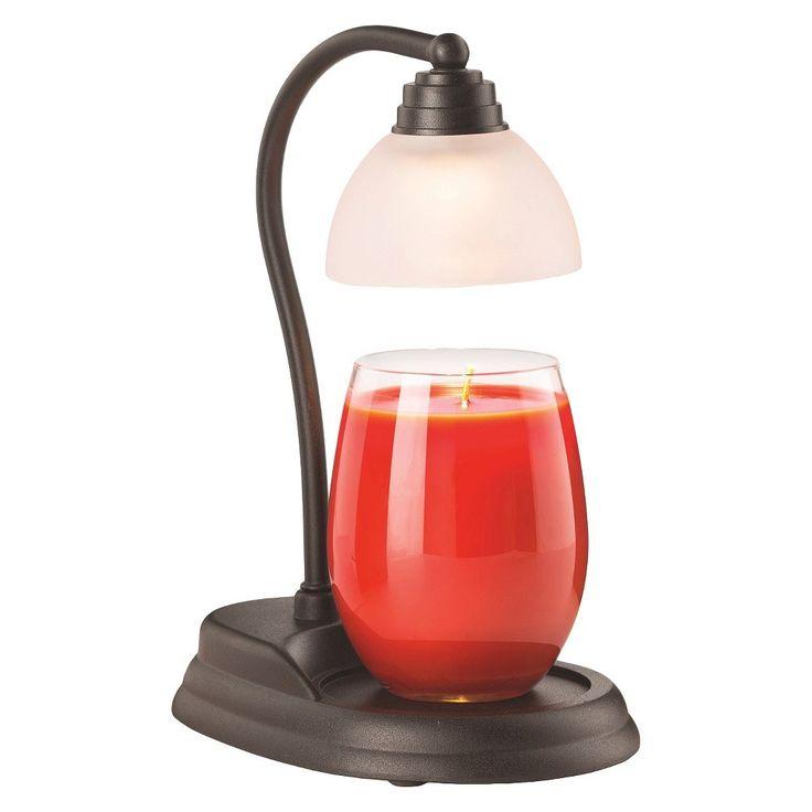 Candle Warmers Etc. Aurora Candle Warmer Lamp Black