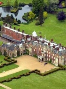 Sandringham House Is A Country On 20 000 Acres Of Land Near The Village