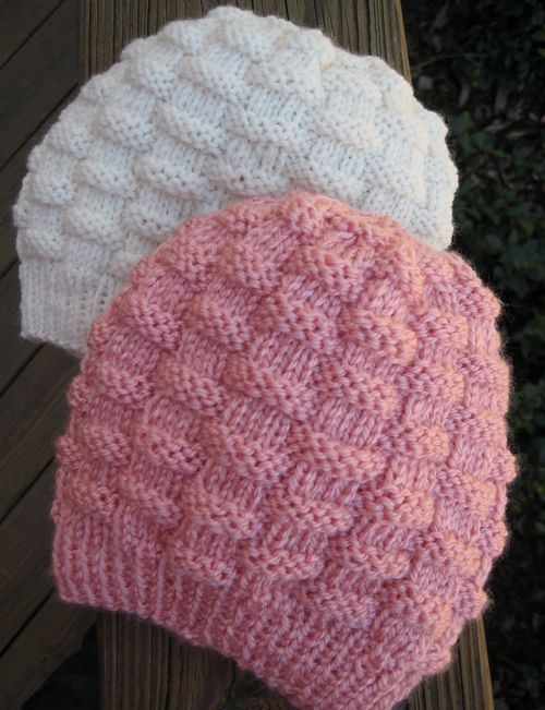 Free Knitting Patterns For Toddler Hats On Straight Needles : Basket-Weave Baby Hat - Free Pattern Crocheting & Knitting Pinterest ...
