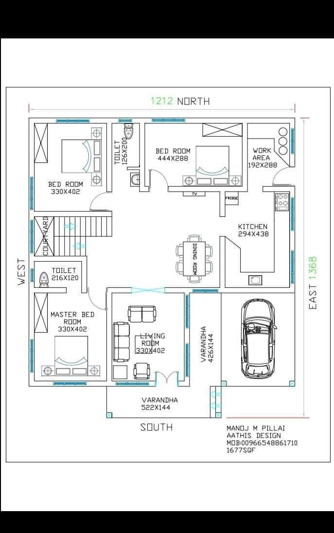 Pin By Catila On House Plans Indian House Plans South Facing House Free House Plans