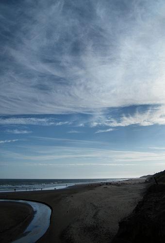 La Playa de Necochea by katiemetz, via Flickr