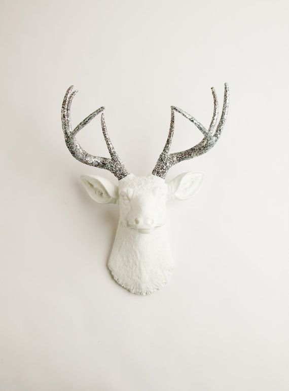 Mother's Day Gift Faux Stag Taxidermy  The by WhiteFauxTaxidermy
