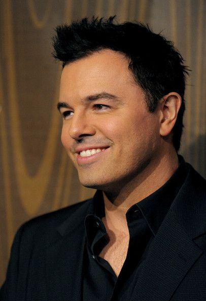 Seth MacFarlane- I love this man! He's hilarious, handsome, creator of Family Guy, and has such a sexy voice and smile!