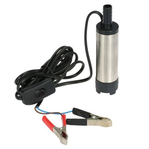 Oil Liquid Diesel Fuel Water Pump 12V Transfer Pump Water Oil Fluid Refuel