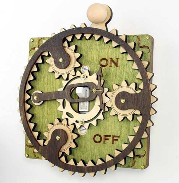 Over-the-top Light Switch Covers That Are Quirky and Cool  (14 pics   1 gif)