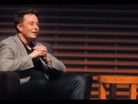 Elon Musk: Tesla Motors CEO, Stanford GSB 2013 Entrepreneurial Company o...