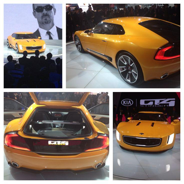 This is the GT4 Stinger: eye-catching design, sleek, high performance: http://www.kiamedia.com/us/en/media/pressreleases/7811/kia-shocks-the-motor-city-with-rear-drive-gt4-stinger-concept