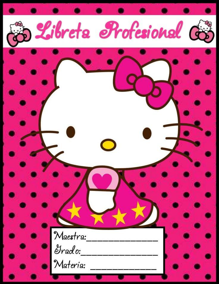 Libreta profesional 2014 Hello Kitty