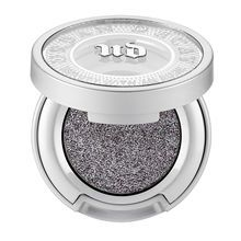 Medium gray with bright silver sparkle
