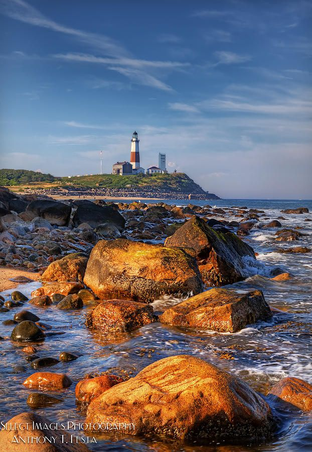 ✮ Montauk Lighthouse. I have many happy childhood memories sitting on those rocks, watching the sea.