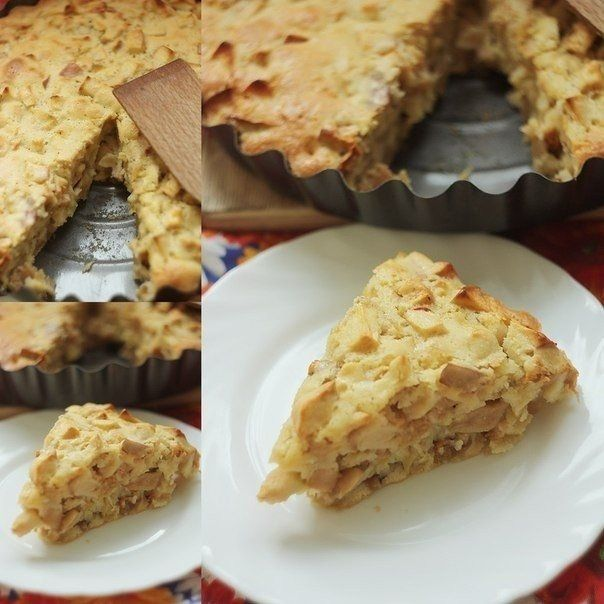 Как приготовить шарлотка с яблоками - рецепт, ингридиенты и фотографии