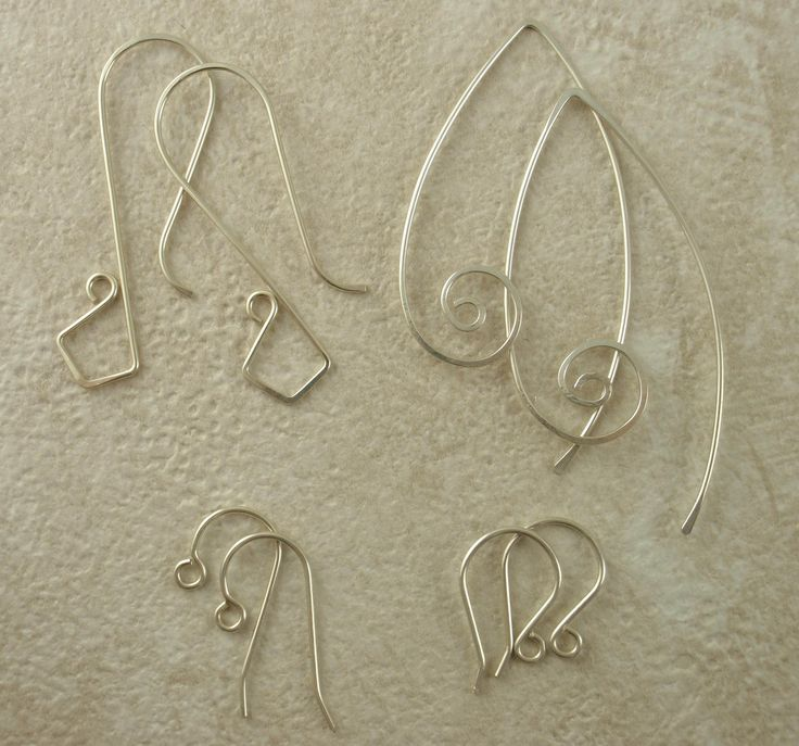 Silver Ear Wires