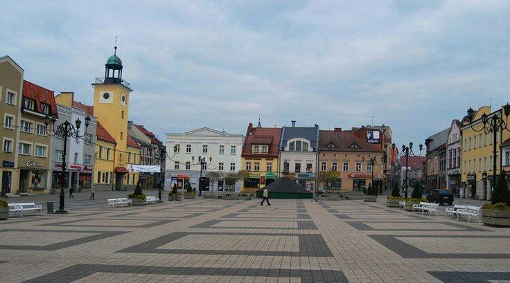 Rybnik, Poland #mycity #Rybnik #Poland #beautiful #square #oldtown