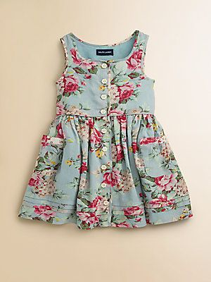 Ralph Lauren Toddler's & Little Girl's Floral Sundress