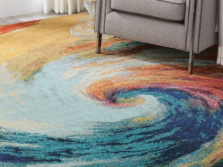 Celestial CES07 Wave Rugs | Modern Rugs