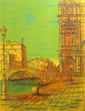 Jean Carzou - Venise