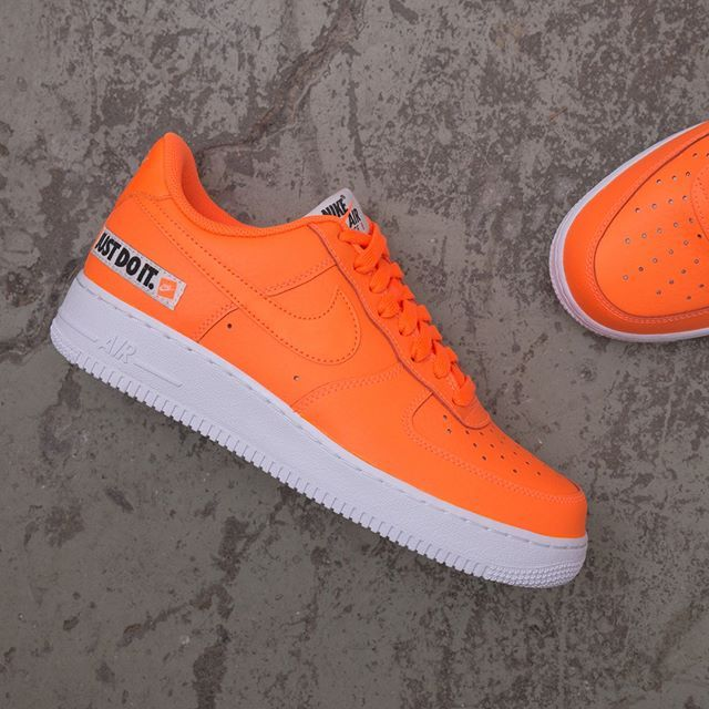 498bc76c1526 Nike Air Force 1 07 LV8  Just Do It  Leather - BQ5360-800 airforce1