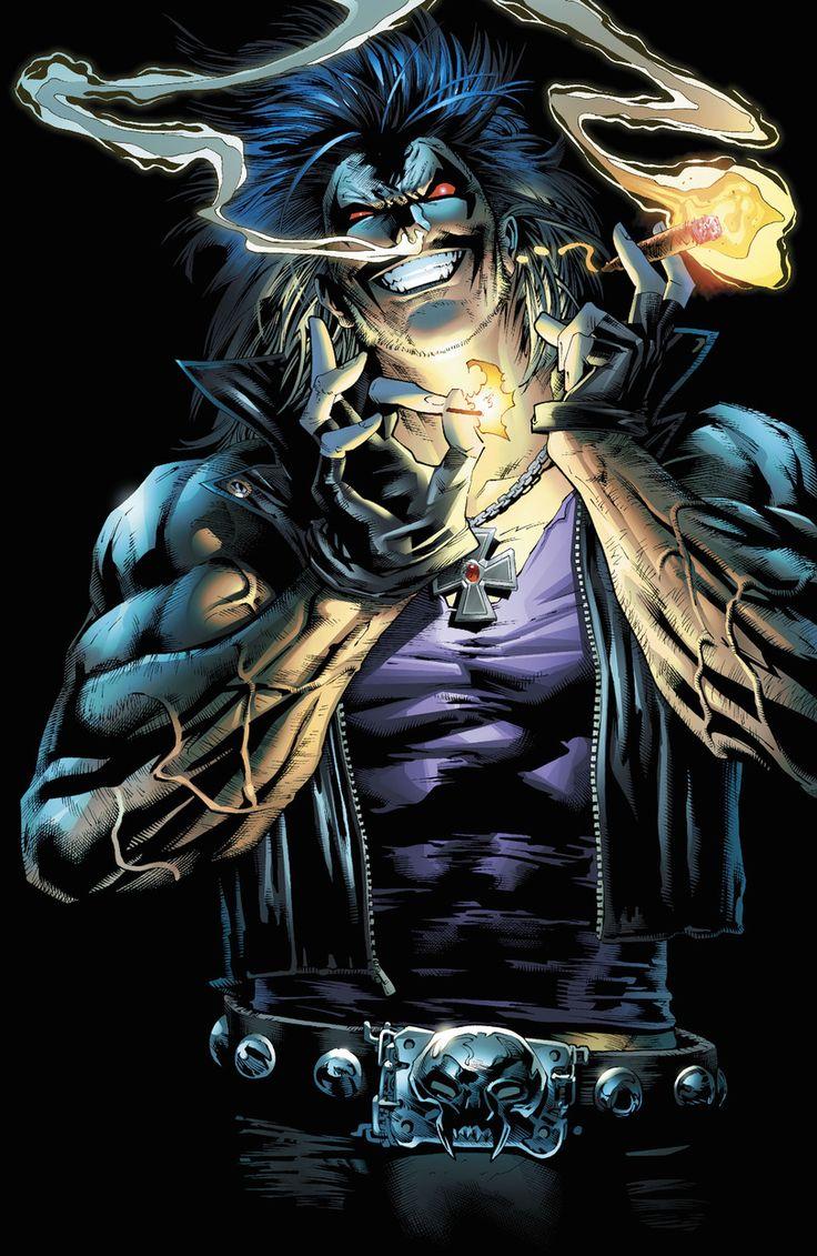 DC Comics,DC Universe, Вселенная ДиСи,фэндомы,арт,красивые картинки,Lobo,Лобо