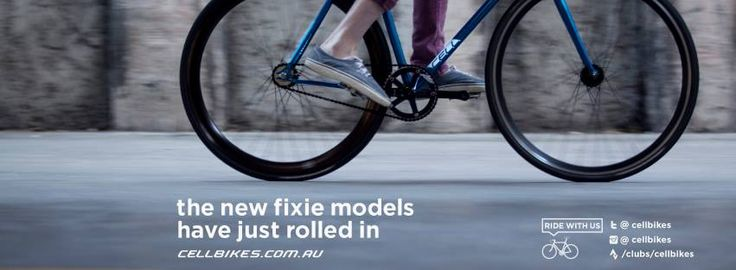 Our new #Fixie models have just rolled in! Check them out online at cellbikes.com.au