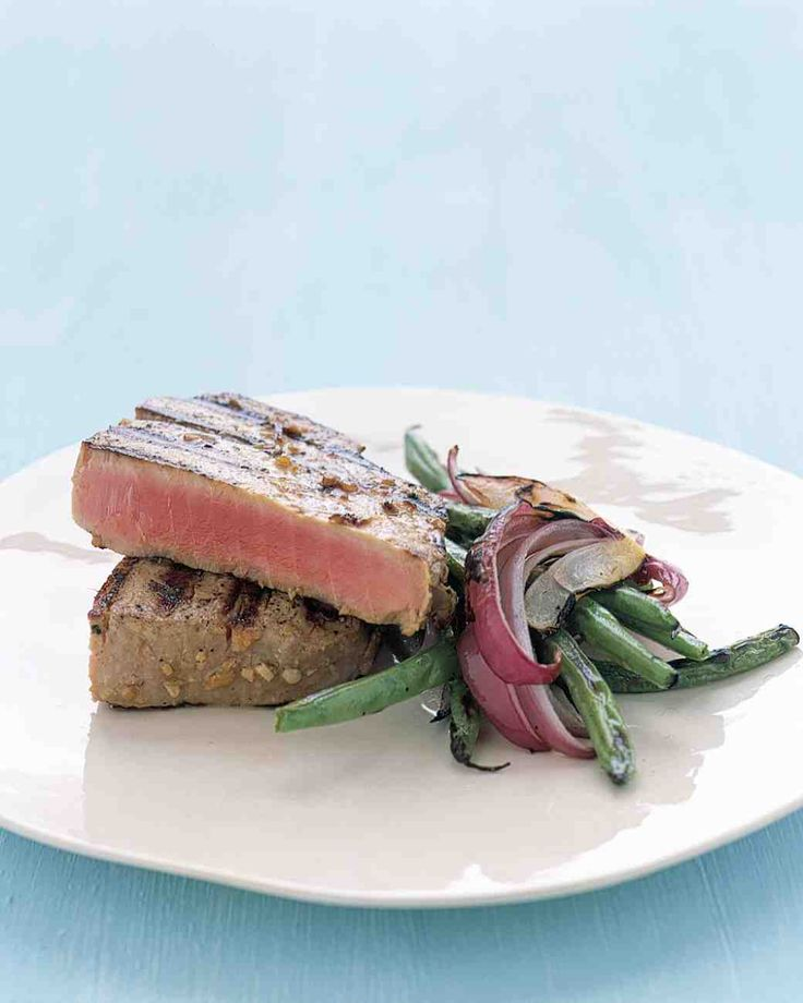 Tasty grilled tuna steaks recipes on pinterest grilled for Fresh fish recipes