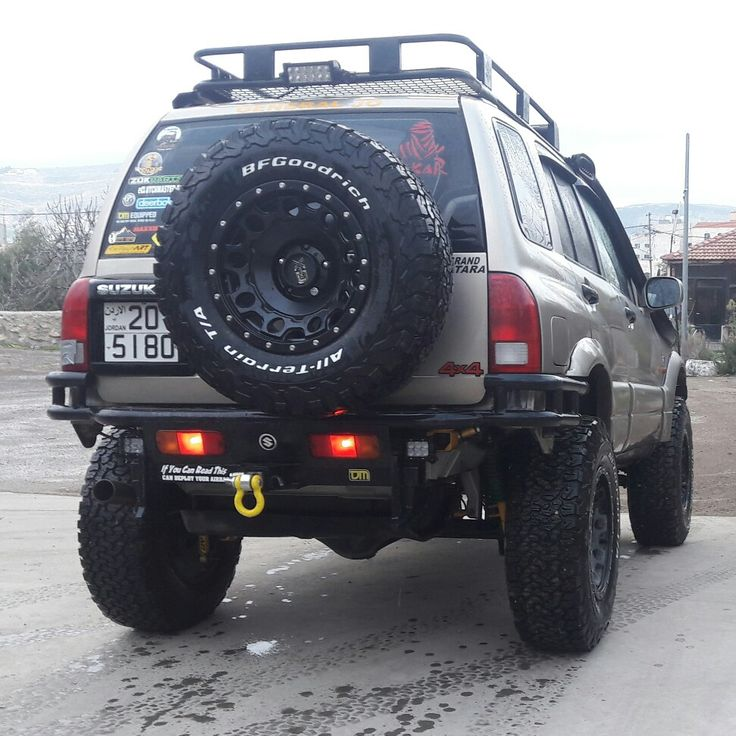 Suzuki Grand vitara rear bumper