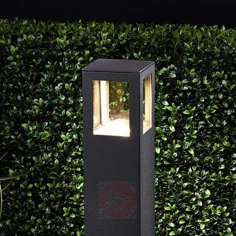 Firkantet Nicola LED-vegglampe, IP54-9618009-22