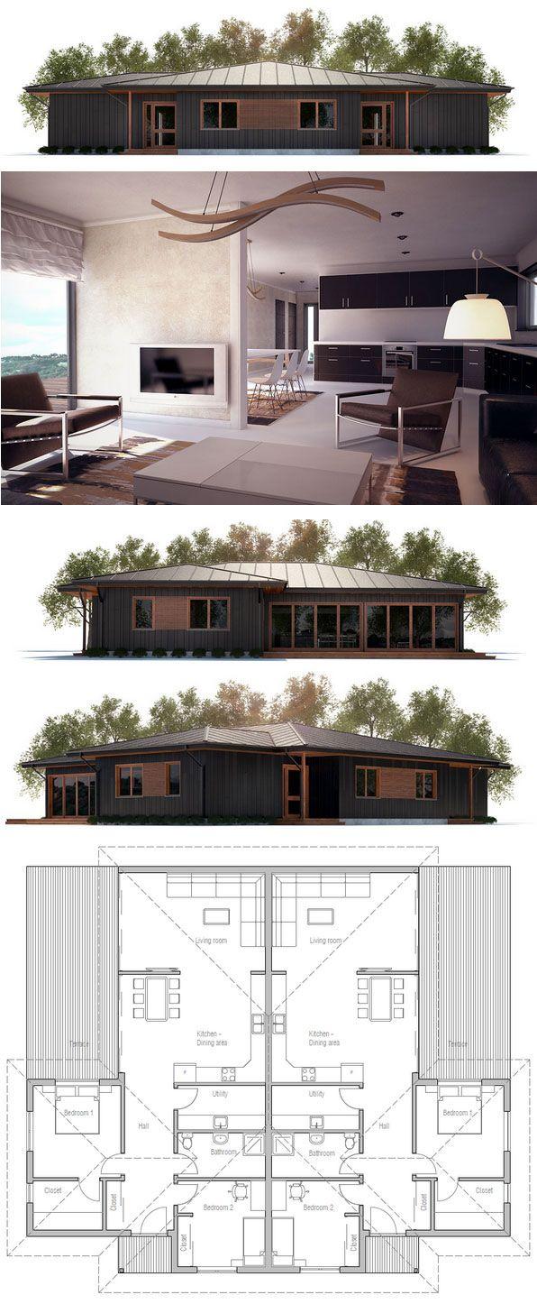 44 best images about duplex house plans on pinterest. Black Bedroom Furniture Sets. Home Design Ideas