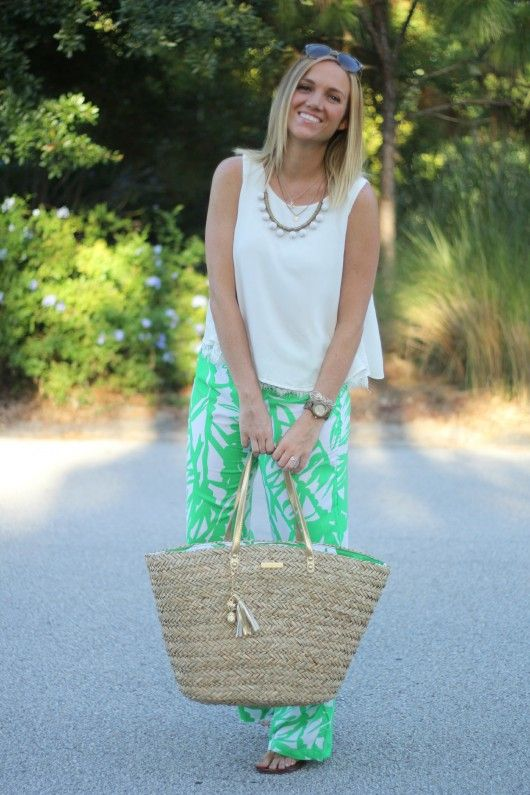 Lilly Pulitzer for Target Boom Boom Print Pants