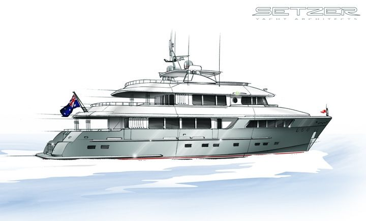 Outer Reef Explorer | Setzer Yacht Architects