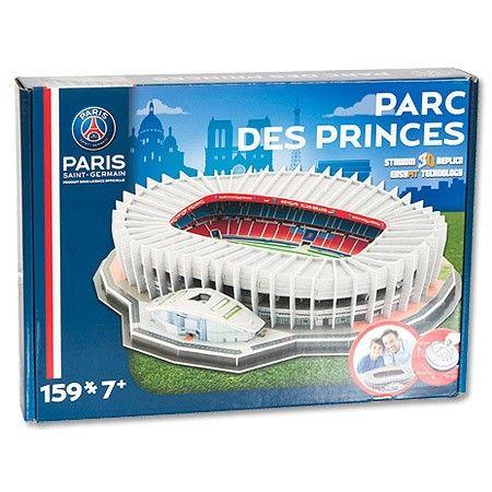Maqueta para armar del Estadio del PSG 'Parc des Princes' (Rompecabezas 3D) #maqueta #puzzle #psg #stadium