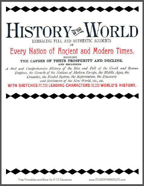world history for dummies pdf free