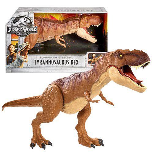 Jurassic World Fallen Kingdom Super Colossal T Rex Watch Out It S A T Rex From The Jurassic Wo Jurassic World Dinosaur Toys Falling Kingdoms Jurassic World