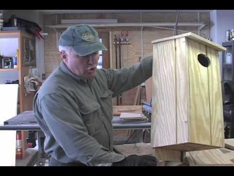 Wood Duck Box Making-1 - YouTube