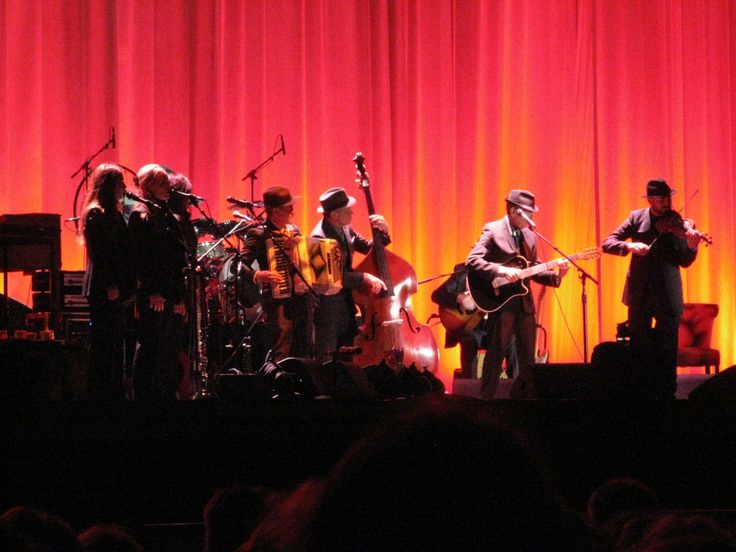 Leonard Cohen. September 2012, Helsinki.