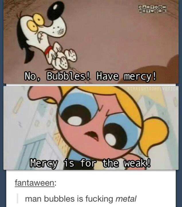 I remember this episode. Power Puff Girls was sometimes a little disturbing.