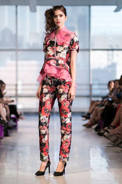 Yuna Yang at New York Spring 2015