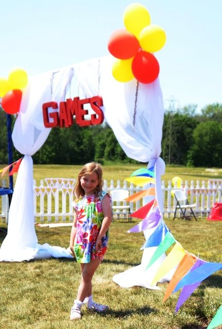 """Photo 13 of 35: Backyard Carnival with Vintage Twist / Birthday """"Backyard Carnival with Vintage Twist"""" 