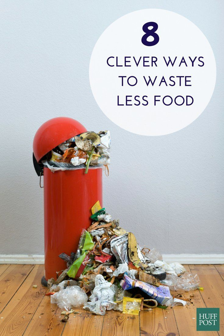 Here's how you can waste less food and save more money in the process