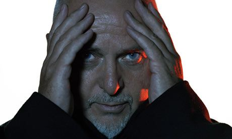 """Peter Gabriel.    Musical innovator.  Helped introduce """"World Music"""" to Western ears.  Human rights activist."""