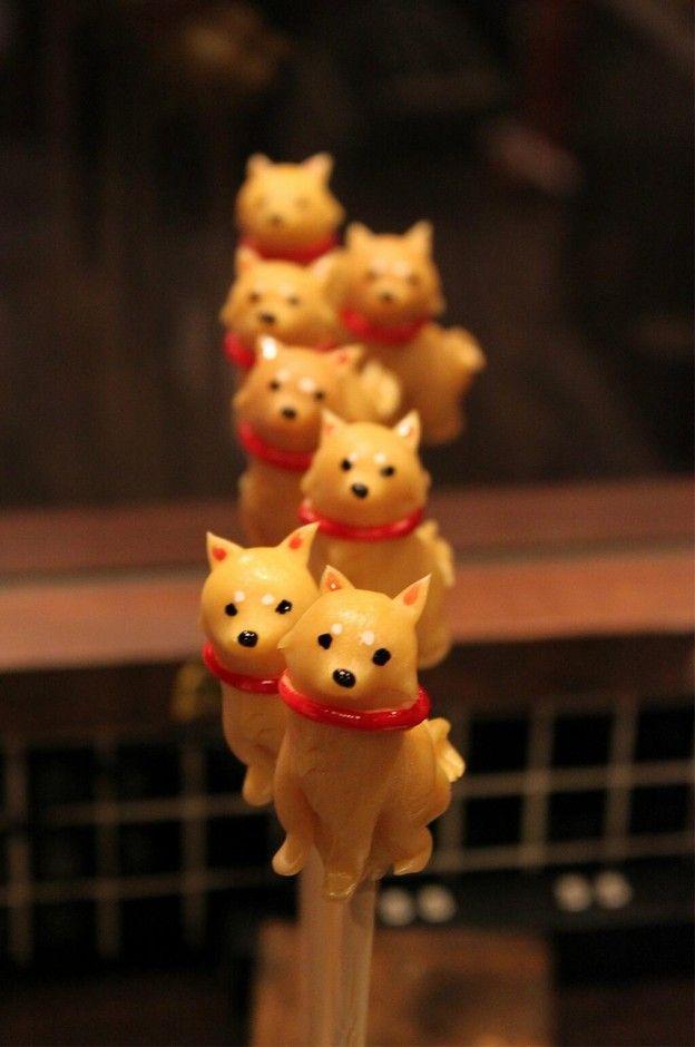 あめ細工 吉原 飴細工 柴犬 | Sumally Shiba Inu Sugar Candy from Japan