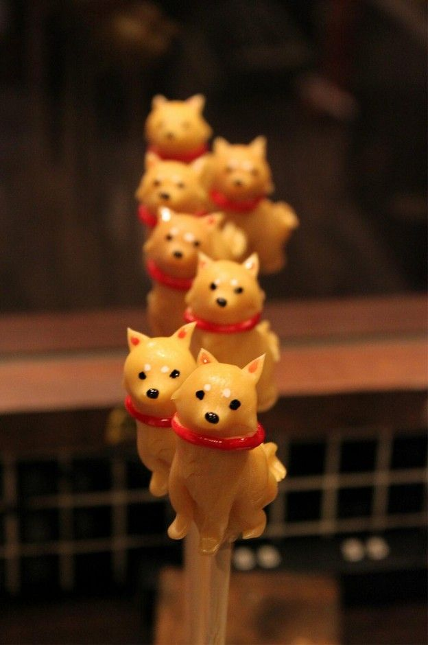 あめ細工 吉原 飴細工 柴犬 | Sumally Shiba Inu Sugar Candy from Japan