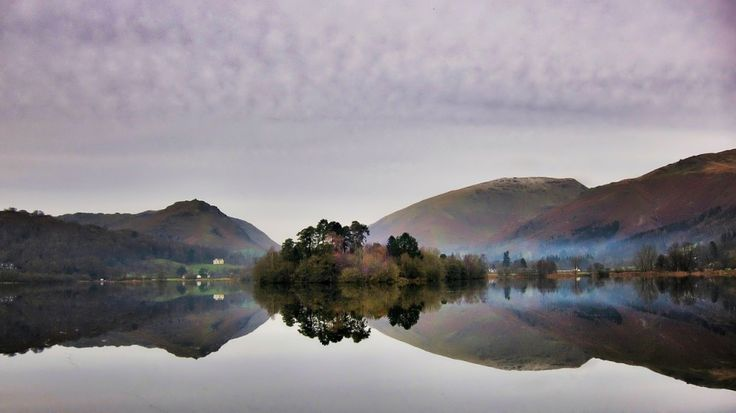 Still conditions in Lakeland can produce glass like reflections on the lakes. Rising early will give you the best chance to enjoy one of the most spectacular sights that the Lake District has to offer.