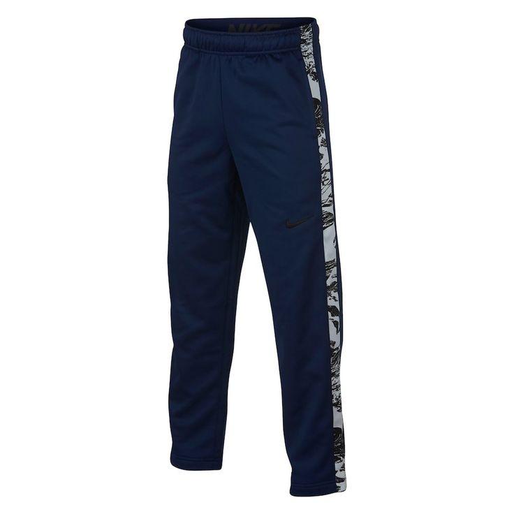 Boys 8-20 Nike Therma Fleece Pants, Size: Medium, Med Blue