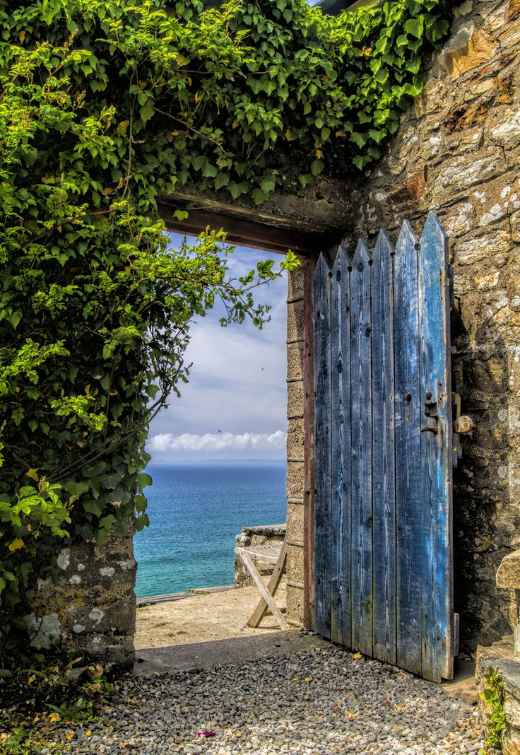 The Sea Door. Taken at the Druidstone a fantastic pub in Wales overlooking the beautiful Welsh coast line on what was a fantastic day.