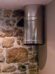 LAUNDRY CHUTE, simple version.   I do like the rock on wall.