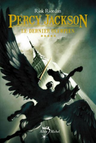French cover of Percy Jackson and the Olympians, book 5: The Last Olympian, by Rick Riordan.