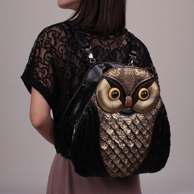 Women's 2 Way Kawaii Vivid 3D Owl Bag College Girl Leather Single Shoulder Bag | Clothing, Shoes & Accessories, Women's Handbags & Bags, Handbags & Purses | eBay!