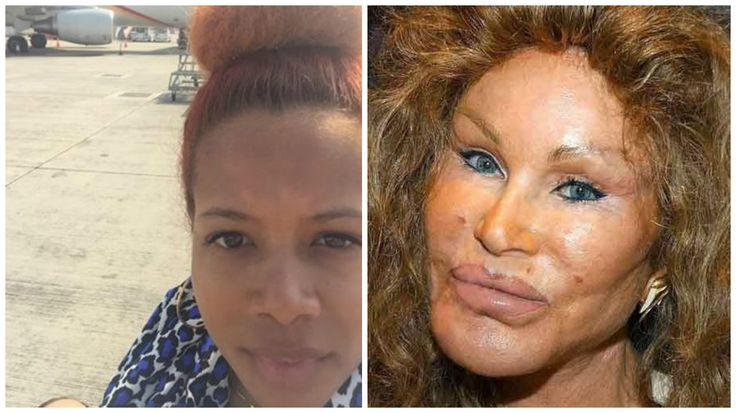 Plastic Surgery TWINS  soon 2 be convicted conspired attempted murderer kelis rogers & CAT LADY