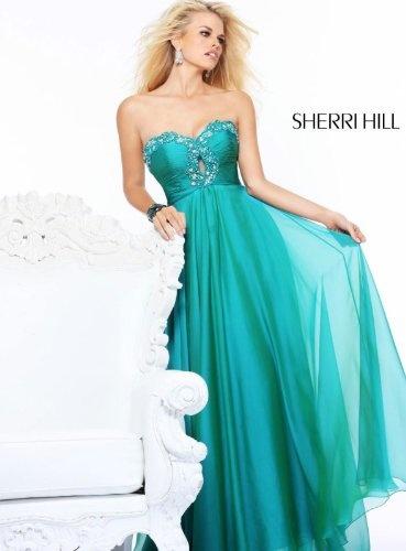 Sherri Hill 21122 Teal Crystal Keyhole Adorned Evening Dress Sz 2 6 New Prom  http://www.mysharedpage.com/sherri-hill-21122-teal-crystal-keyhole-adorned-evening-dress-sz-2-6-new-prom