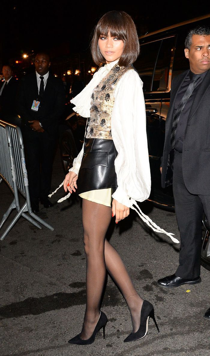 Zendaya coleman in tights